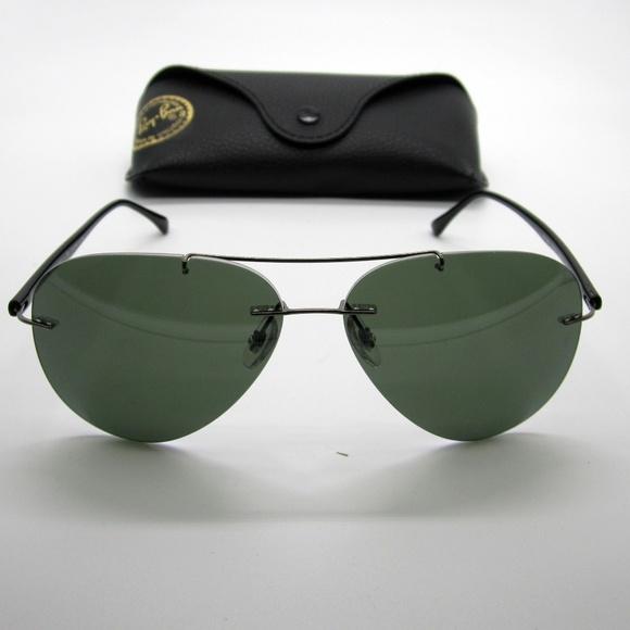 4e3c1b34c5 RayBan RB8058 Aviator Polarized Sunglasses  DAE217.  M 5ae8889861ca10306bd32945